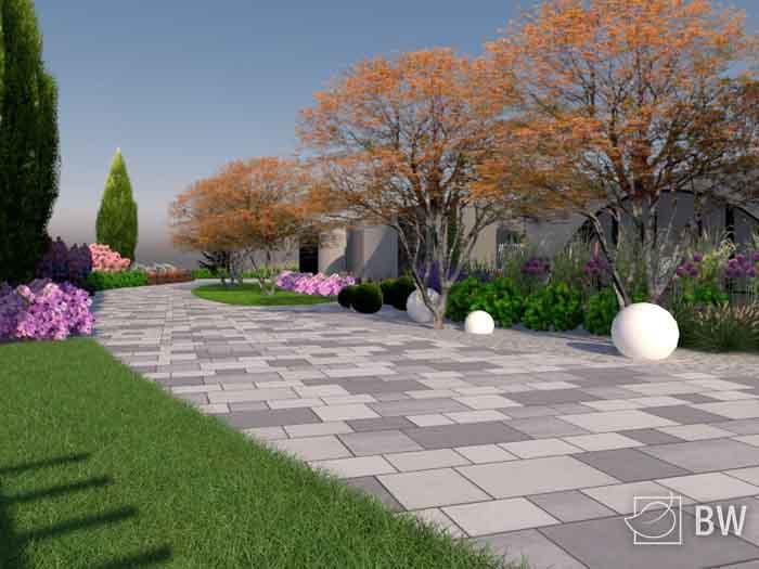 wizualizacje ogrodów 3D